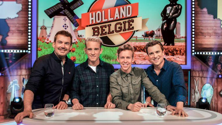 Ruben Nicolai, Art Rooijakkers, Jonas Van Geel en Niels Destadsbader