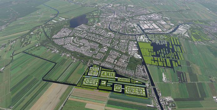 De Noordrand en de Gnephoek moeten worden bebouwd.