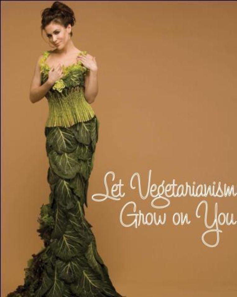 Alyssa Milano is een zeer actieve vegetariër, net als Hayden Panettiere (boven). Beeld UNKNOWN