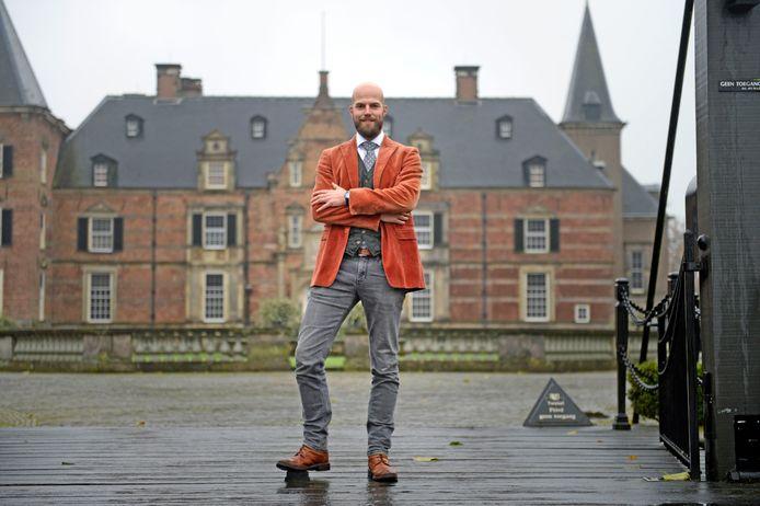 """Egbert Jaap Mooiweer, de rentmeester van Twickel:  """"Laten we hopen dat het niet bij deze drie dagen blijft."""""""