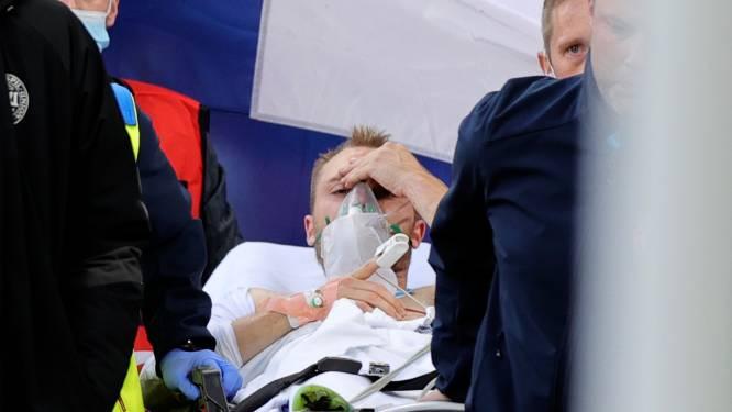 """Deense ploegmaats in de wolken na bezoek van Eriksen: """"Dit was precies wat we nodig hadden"""""""