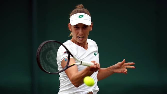 """Elise Mertens naar tweede ronde op Wimbledon: """"Niet mijn beste match, maar dit doet deugd"""""""
