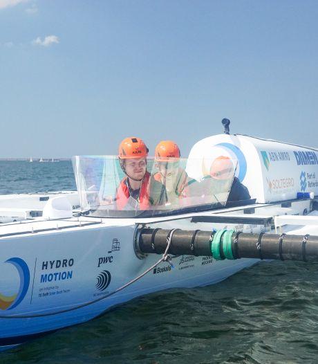 Waterstofboot TU Delft zwaar beschadigd voor beslissende WK-race