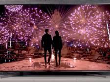 Deze televisie levert een bioscoopervaring met zijn unieke audiosysteem