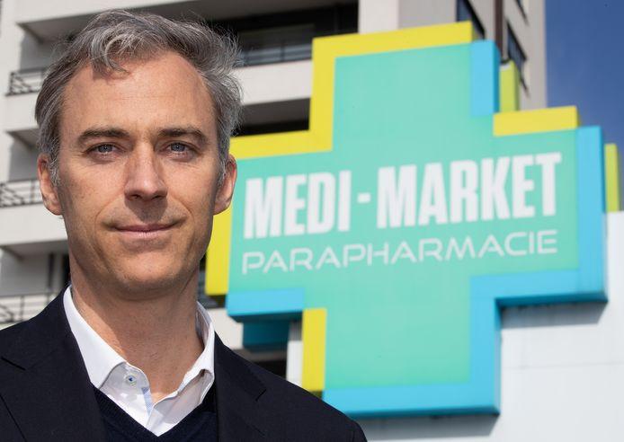 Le CEO de Medi-Market, Yvan Verougstraete.