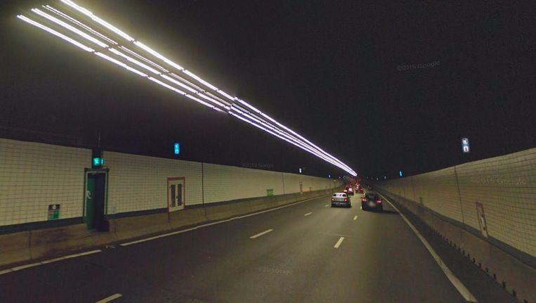 De Zeeburgertunnel. Beeld Google Streetview