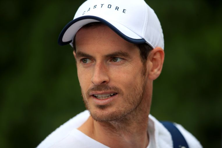 Andy Murray. Beeld Photo News