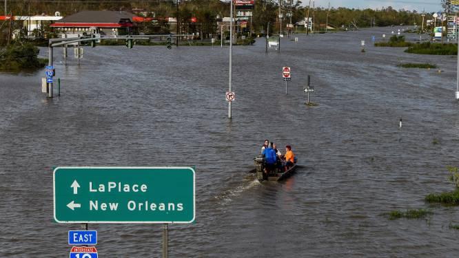 """Beelden tonen """"catastrofale"""" verwoesting na doortocht orkaan Ida"""