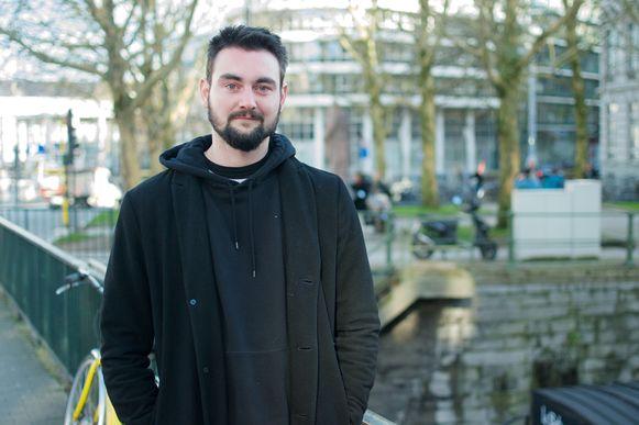 Tim D'hont (24) - vaste bezoeker.