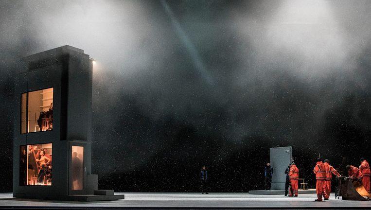 Puccini en zijn librettisten verwerkten sneeuw, kou en eenzaamheid in La Bohème. Beeld Marco Borggreve