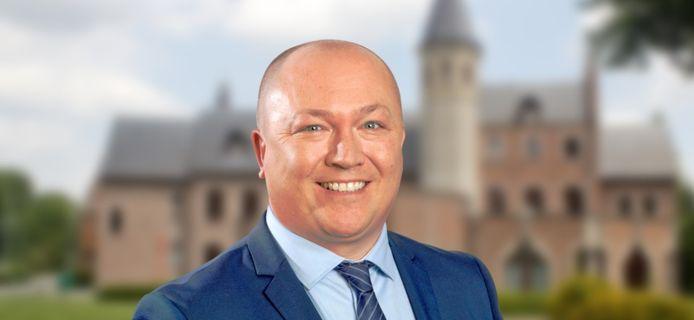 Toekomstig (tijdelijk) Machels burgemeester Steve Claeys.
