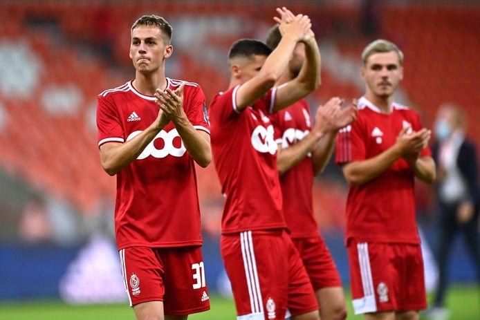 Entre déception et fierté: les Rouches ont fait plaisir à leurs supporters, mais ils ont craqué en fin de match.