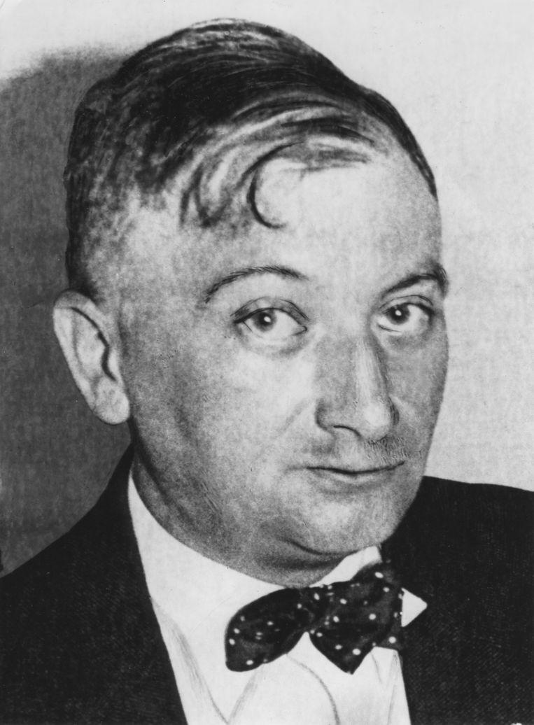 Joseph Roth stierf in deplorabele omstandigheden op 27 mei 1939 in een Parijs' armenhospitaal, volledig verteerd door de alcohol. Beeld ullstein bild via Getty Images