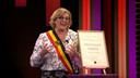 Tania De Jonge in De Cooke & Verhulst Show.