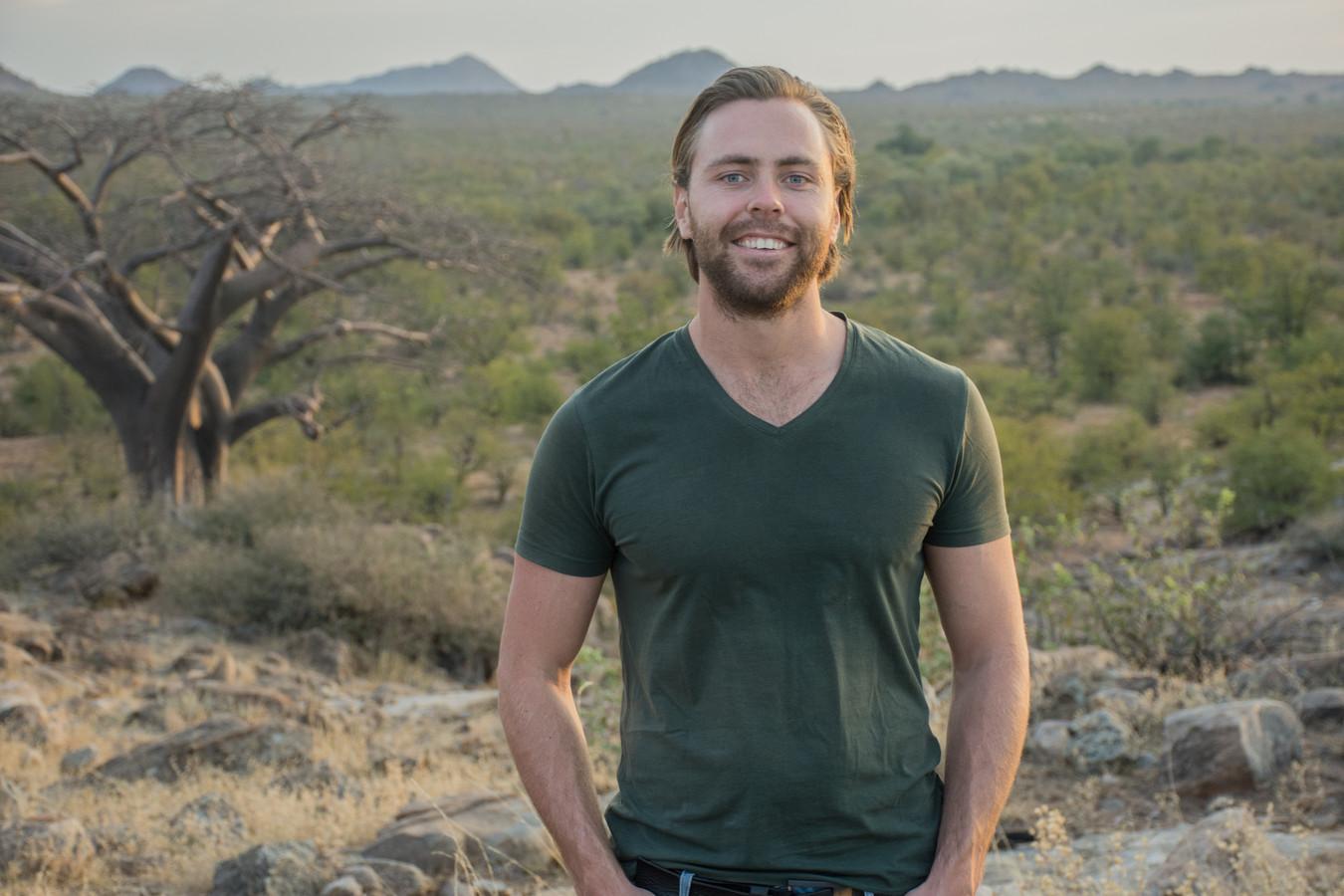 Sander Vissia (29) verruilde Beek en Donk vier jaar geleden voor een avontuurlijk bestaan in de bushbush van Botswana.