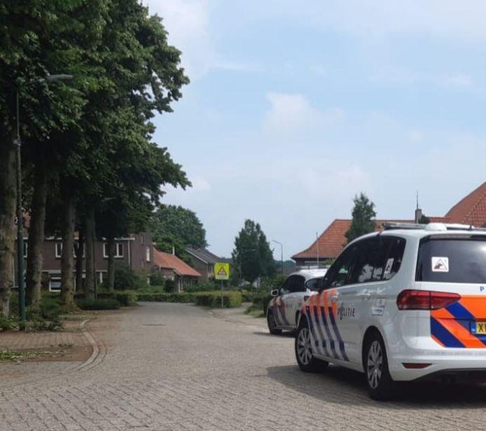 Politie aanwezig in Stevensbeek