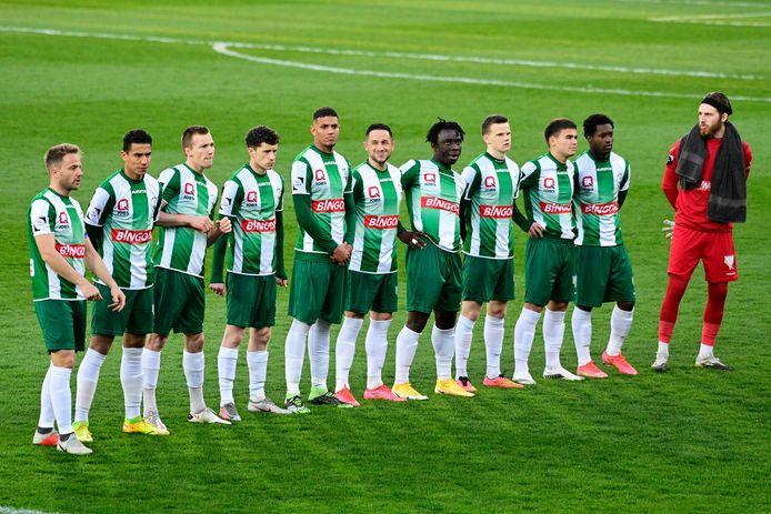 Het Lommelse elftal kon geen vuist maken tegen de Brusselse kampioenenformatie.