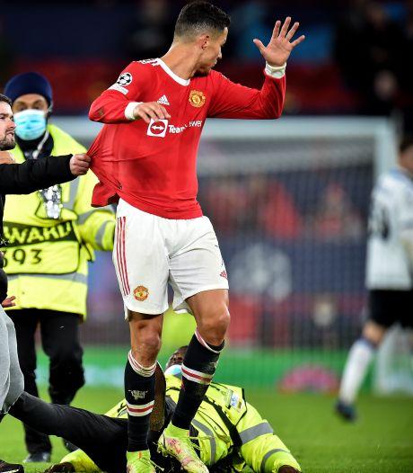 Un fan surprend Cristiano Ronaldo en tentant de lui arracher son maillot