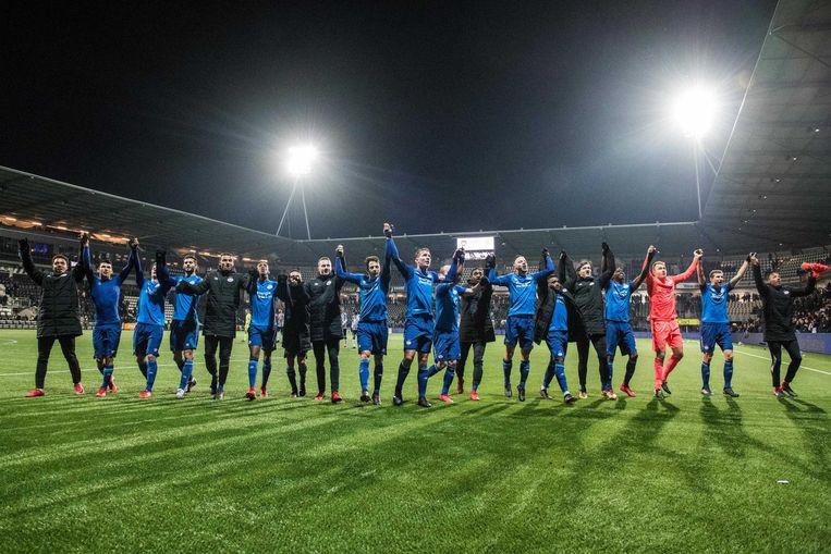 PSV viert feest in Almelo Beeld ANP Pro Shots