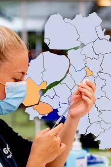 KAART | Goed nieuws: in deze 16 gemeenten werd geen enkel nieuw coronageval ontdekt