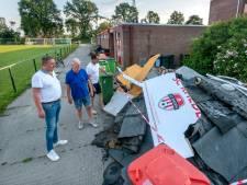 Tornadodorp Rheden krabbelt weer op