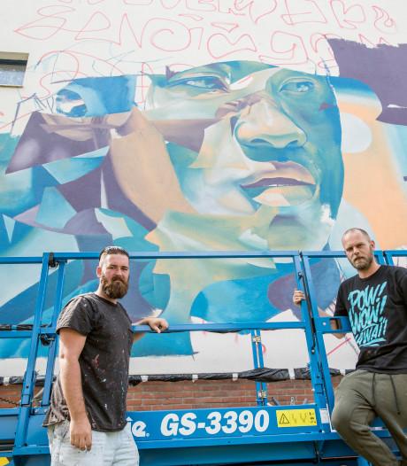Goes-Zuid vrolijkt verder op met tweede muurschildering
