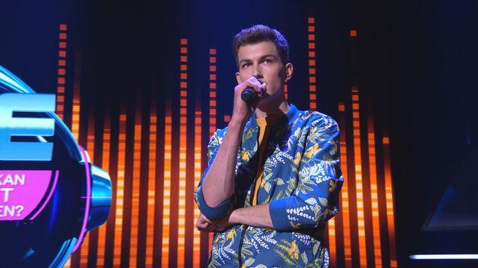 Daan van Hasselaar uit Wageningen in I can see your Voice