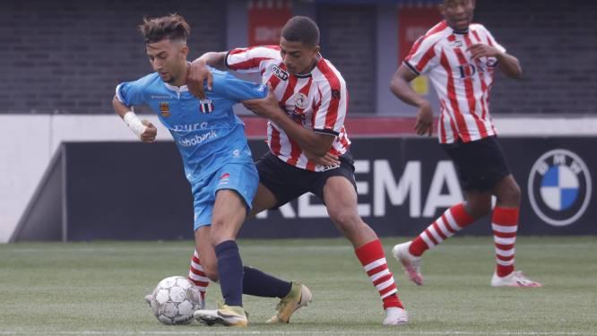 Excelsior Maassluis geveld door drie goals van Spartaan Achraf Madi: 'Soms word je blijer van dingen die niet goed gaan'