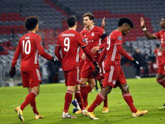 Bayern komt nooit in de problemen tegen Salzburg en blijft perfect op schema