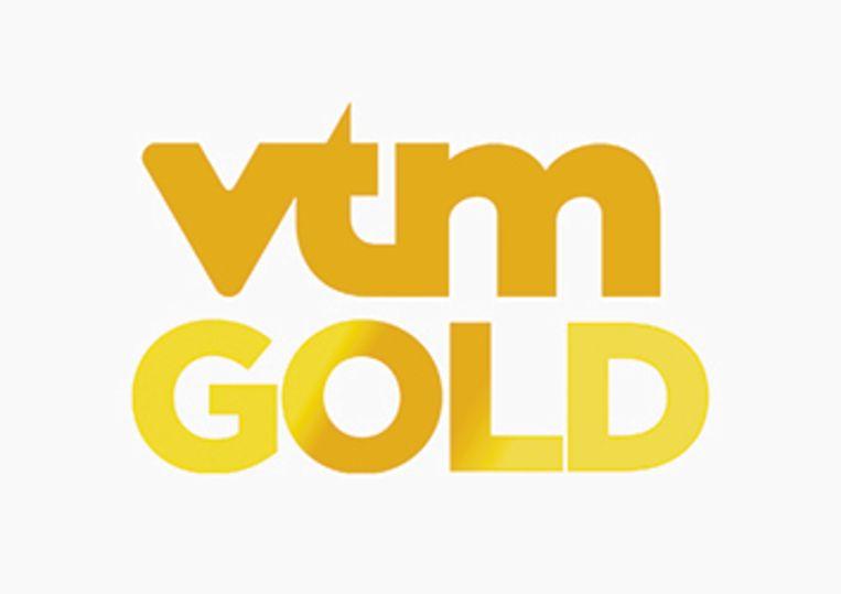 Het nieuwe logo van VTM GOLD. Beeld /