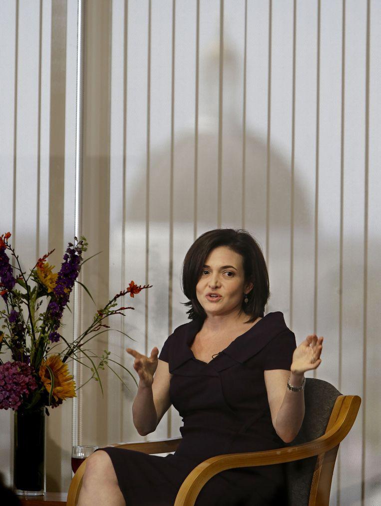 Sheryl Sandberg is de mentor van Emily White en haalde haar naar Facebook. Beeld AP