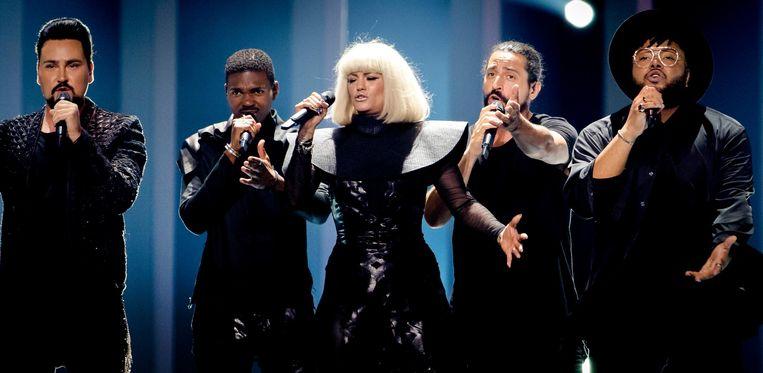 De Bulgaarse Lady Gaga look-a-like Beeld anp