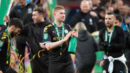 """Vierde League Cup in vijf jaar, maar De Bruyne wil nóg meer... """"Als je iemand moet pushen om speciaal te zijn, dan zijn ze geen topspelers"""""""