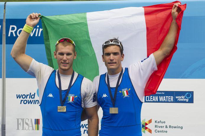 Filippo Mondelli, hier rechts op de foto.