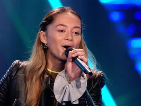 13-jarige Montana blaast coaches The Voice Kids omver