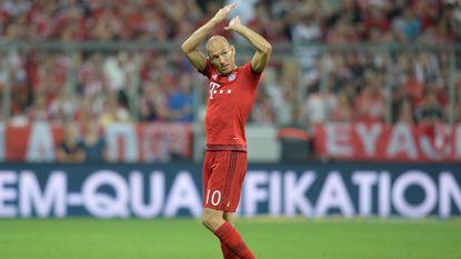 Robben hoopt dat rivaal De Bruyne bij Wolfsburg blijft