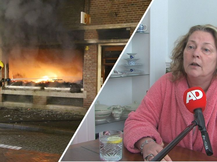 Omwonenden geschokt na brandstichting aan Weissenbruchstraat