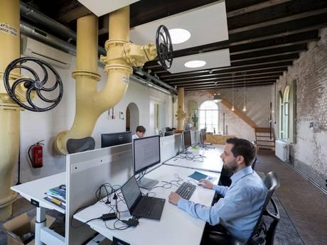 Ook de watertank aan het Hinthamereinde is nu kantoor