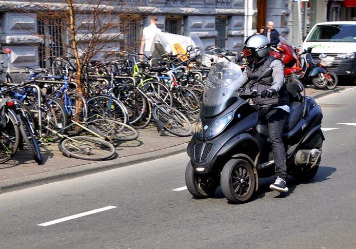 Een motorscooter. Foto ter illustratie.