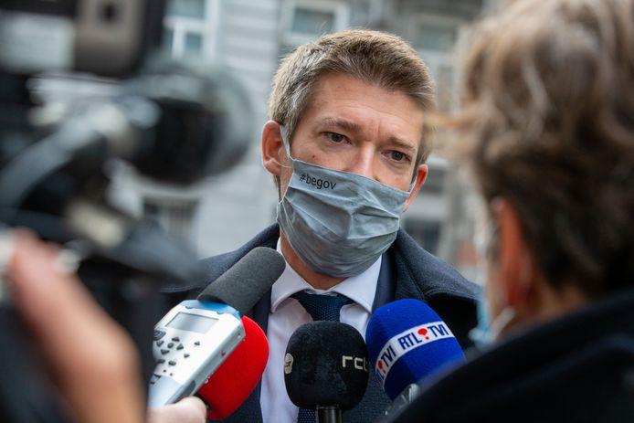 Pierre-Yves Dermagne, ministre fédéral de l'Emploi.