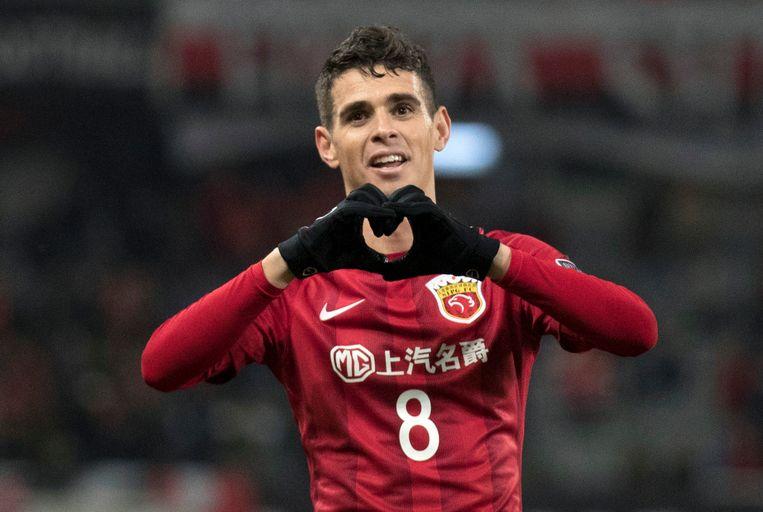 Oscar, topspeler van Shanghai SIPG, dat hem kocht voor 60 miljoen. Beeld AP