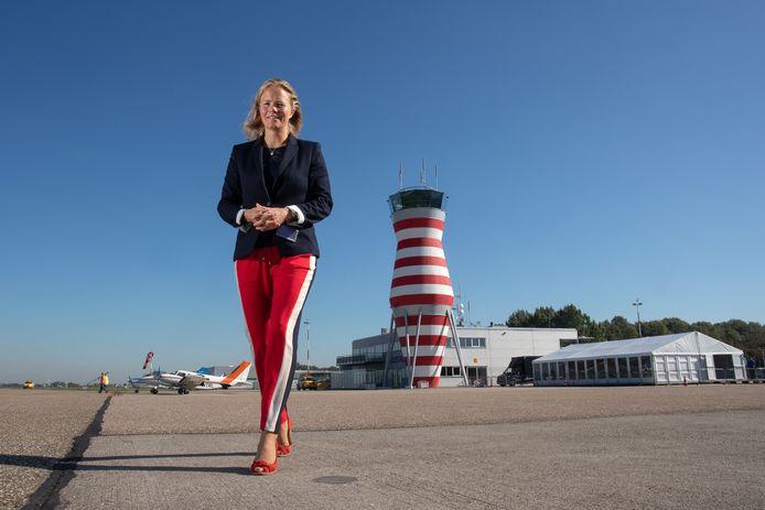 Hanne Buis, directeur Lelystad Airport.