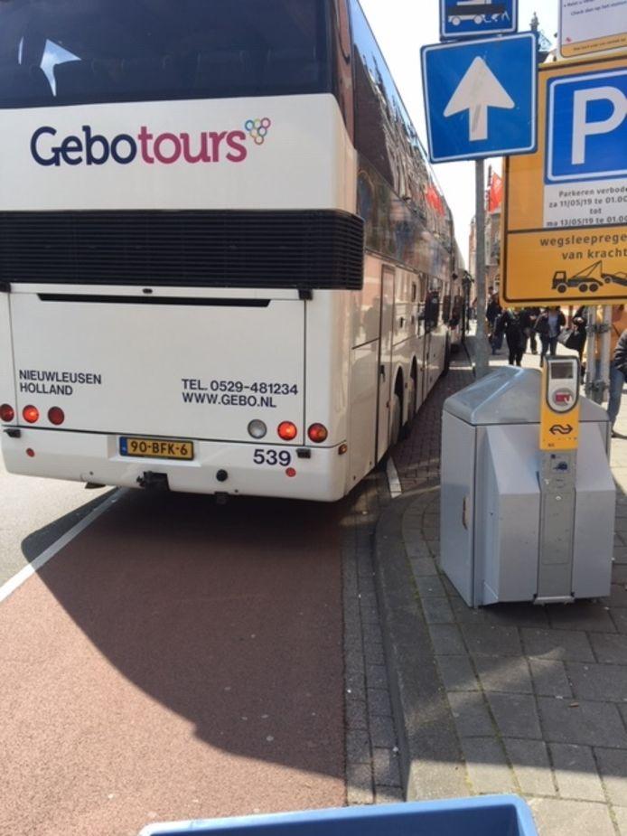 De situatie met bussen afgelopen weekend