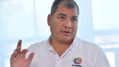 Ex-president van Ecuador ontkent dat hij asiel heeft aangevraagd in ons land