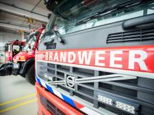 Houtsilo in brand in Dongen