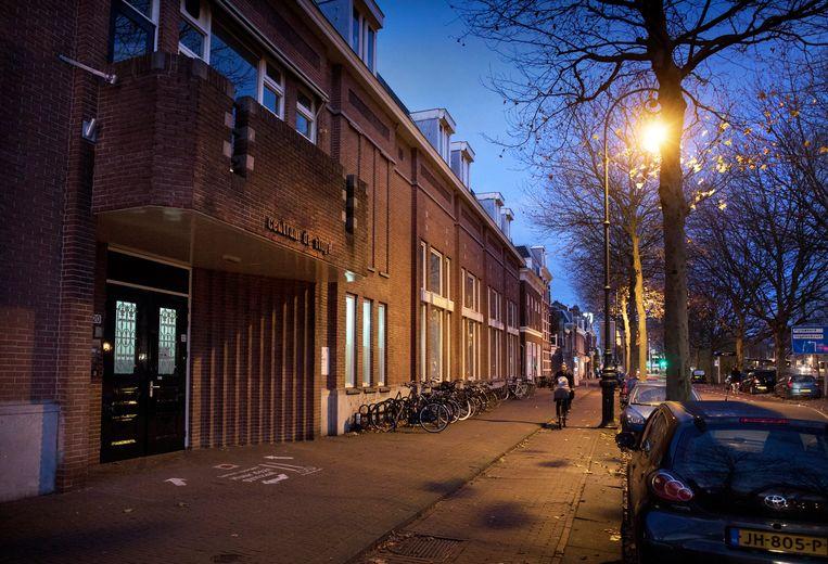 SvPO-locatie in Utrecht.  Beeld Hollandse Hoogte / Werry Crone