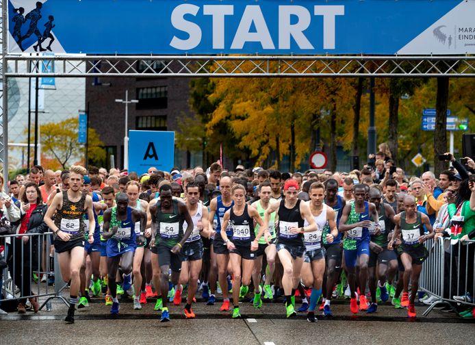 Start van de Marathon Eindhoven in 2019.