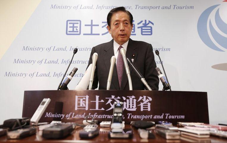 De Japanse minister van Verkeer spreekt zijn zorgen uit over de Boeing Dreamliner. Beeld reuters