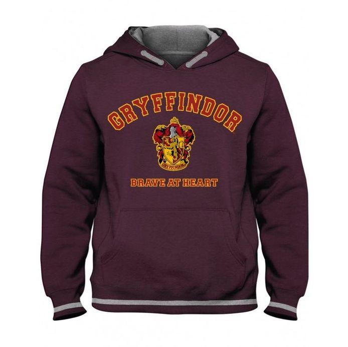 Maglione di Grifondoro, una delle quattro ali della Scuola di stregoneria di Hogwarts