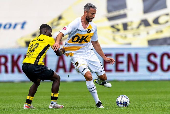 Ralf Seuntjens in actie tegen VVV-Venlo